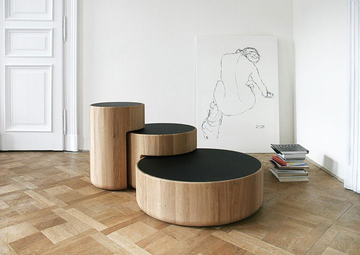 'Levels' is group of nesting tables designed by Koldova and Yeffet in 2013 for the young Belgian brand PER/USE.