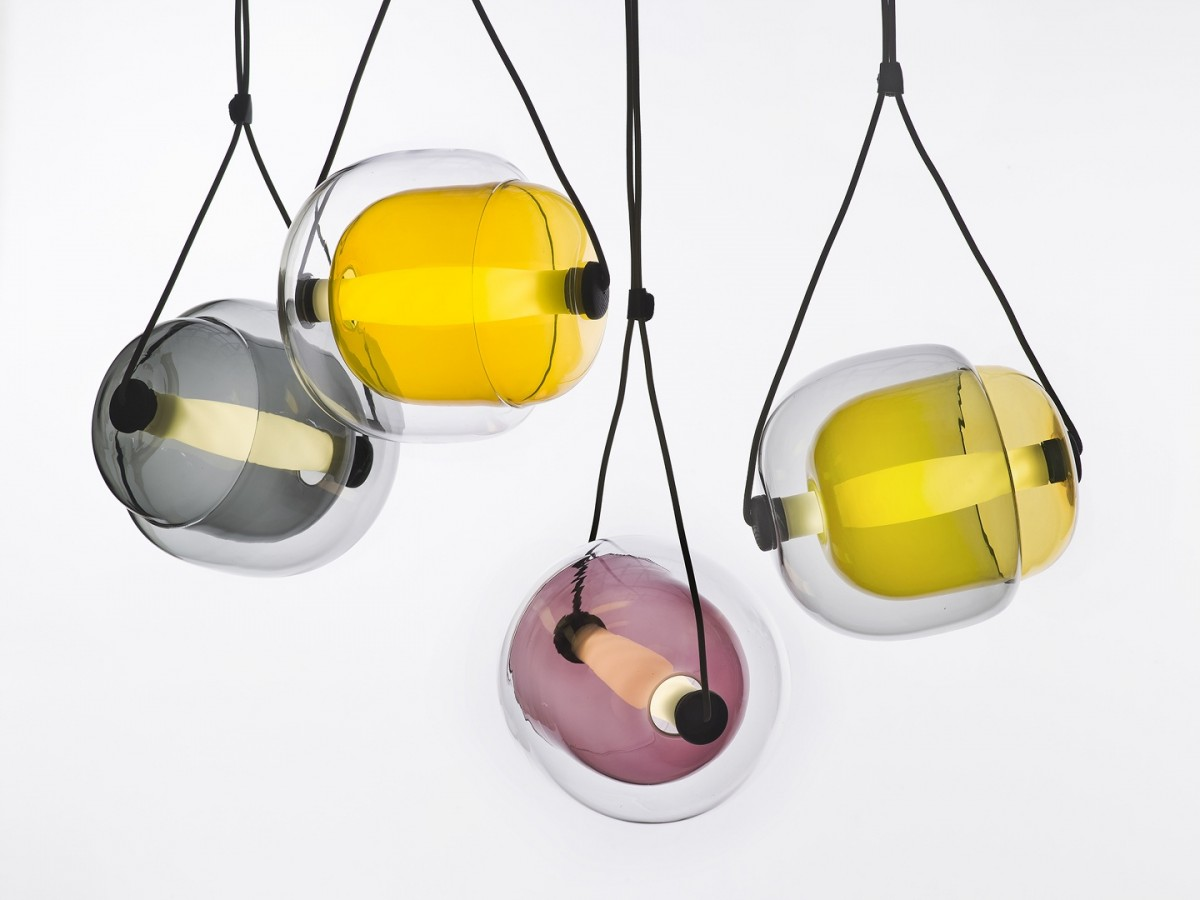 The 'Capsula' lights for Brokis show Koldova's talent with glass. Released in 2013.
