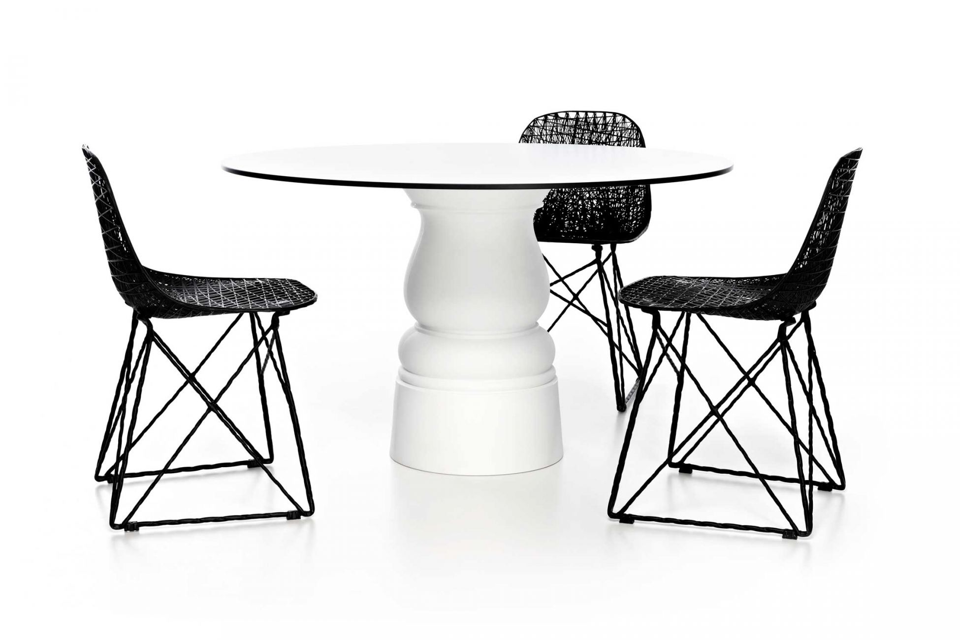 Bertjan Pot's highly successful 'Carbon' chair for Moooi was designed in 2004. Pot remains a regular collaborator.