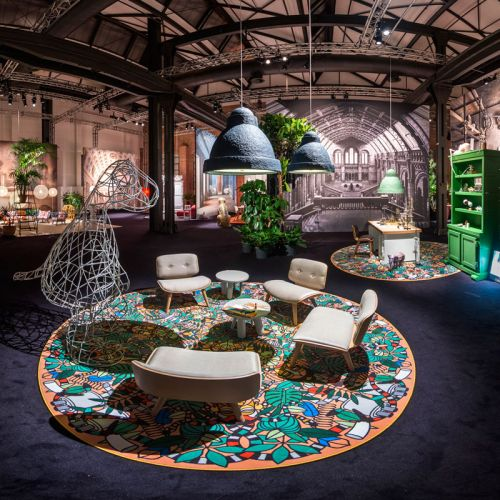 The 2014 Moooi show in Milan. This photograph by Henri Smeets.