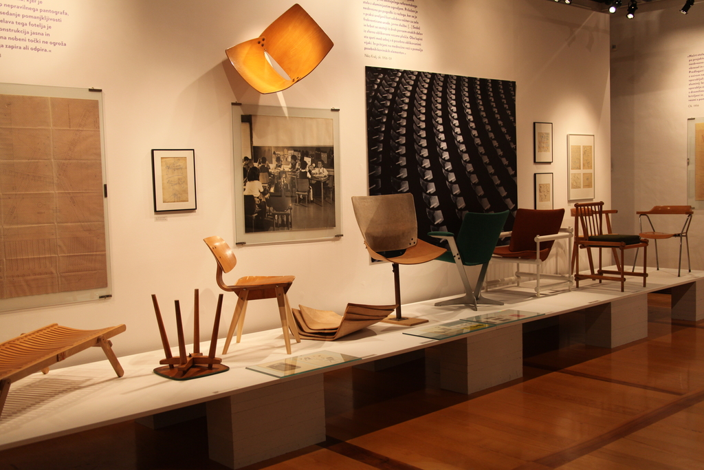 The exhibition on Niko Kralj was held at the Museum of Architecture and Design in Lubljana in 2012.