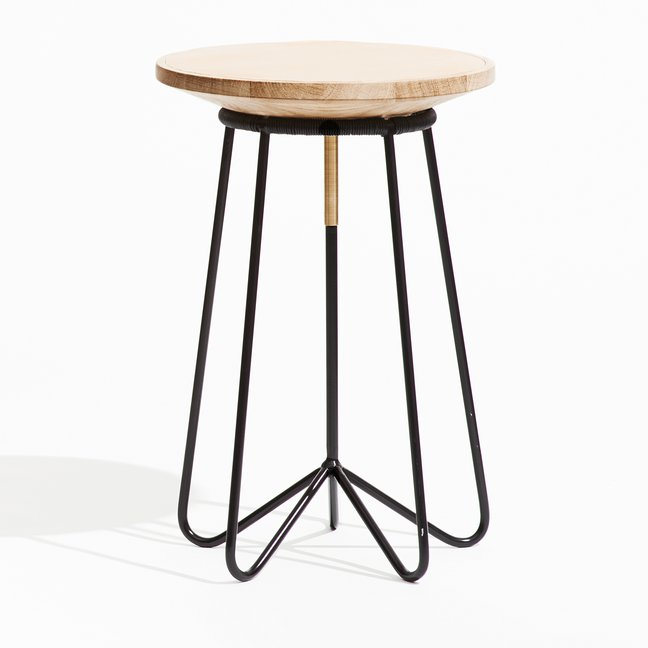 Tøt Gesicka's 'W77' stool has a very simple moving seat to make it more comfortable for long term sitting.