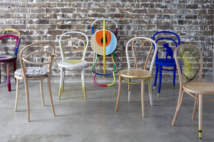 Some of the  Take a Seat for Legacy  offering from 2013 by the likes of Vanessa Colyer Tay, Stephen Ormondy and Romy Alwill.