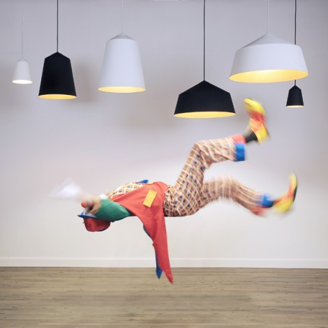 Corinne Warm's 'Circus' lights for Innermost have been heavily copied - even to the extent of the publicity photograph.