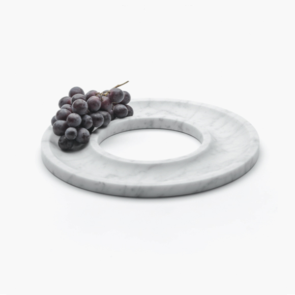 'Ring Tray' by Josep Vila Cadevila for Spanish brand Aparentment is from a large collection that shows the simple beauty of marble.