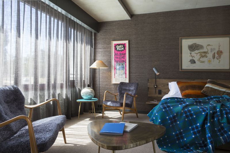 One of the larger Creative rooms in the hotel showing its delightfully eclectic interior.