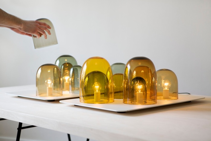 Rybakken's 'Light Tray' was designed in collaboration with Andreas Engesvik  and first exhibited at Spazio Rossana Orlandi in 2012. It is now in production with Swedish company,Asplund.