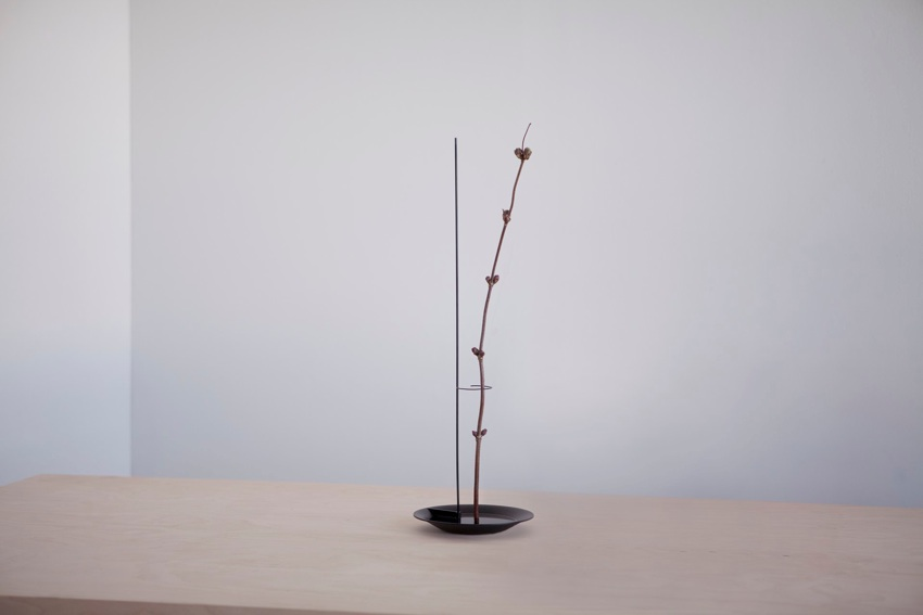 The 'Single Flower Vase' is a rare example of Rybakken working outside of light. It does however, share the same minimalist form ashis other work.