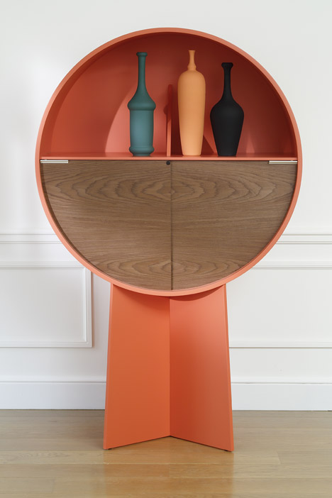 Patricia Urquiola's 'Luna' cabinet for COEDITION.