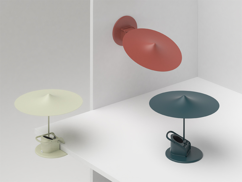 Inga Sempé's 'Clamp' lights in their various forms - table, wall and clamp - simple mechanics, pure genius.