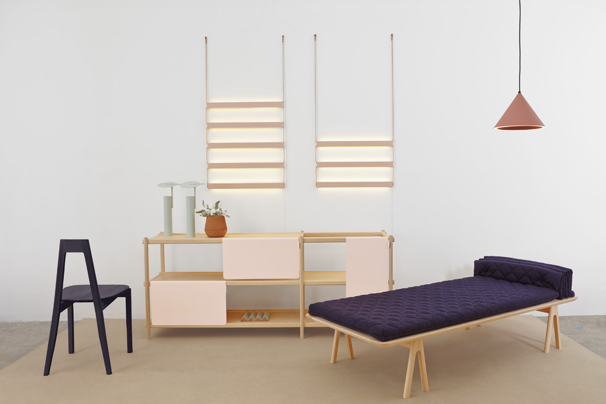 The MSDS Studio collection as shown at the Greenhouse at Stockholm Furniture Fair.