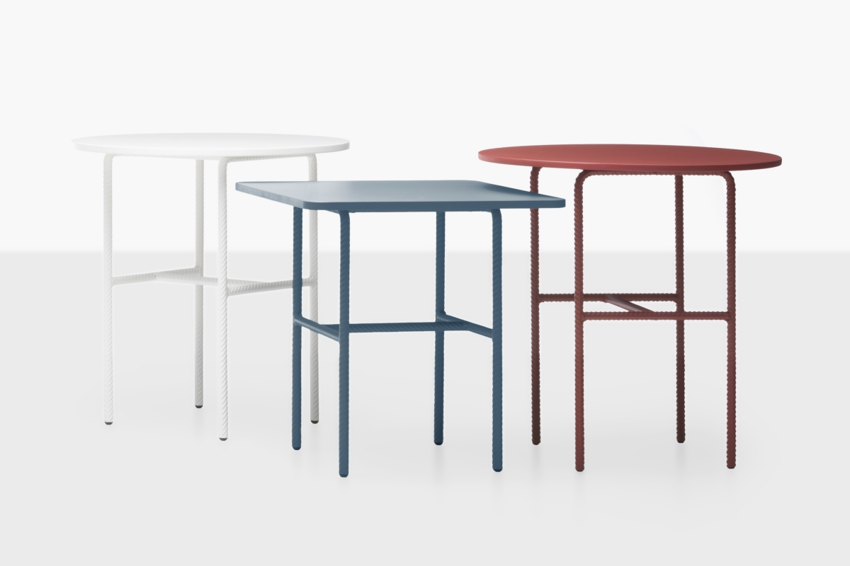 The 'Candy' tables by Sylvain Willenz - as shown at Cappellini NEXT in 2012. Photo: Nicola Zocchi.