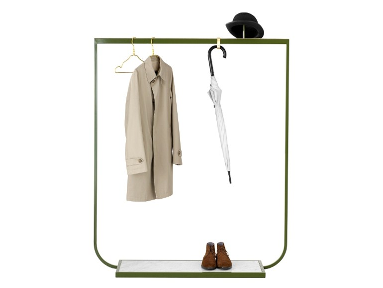 The 'Tati' coat/clothing rail by Mats Broberg and Johan Riddlestrale for Asplund.