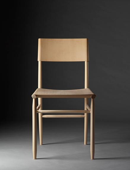 David Ericsson's 'Madonna' chair for Gärsnäs. Photograph:Lennart Durehed