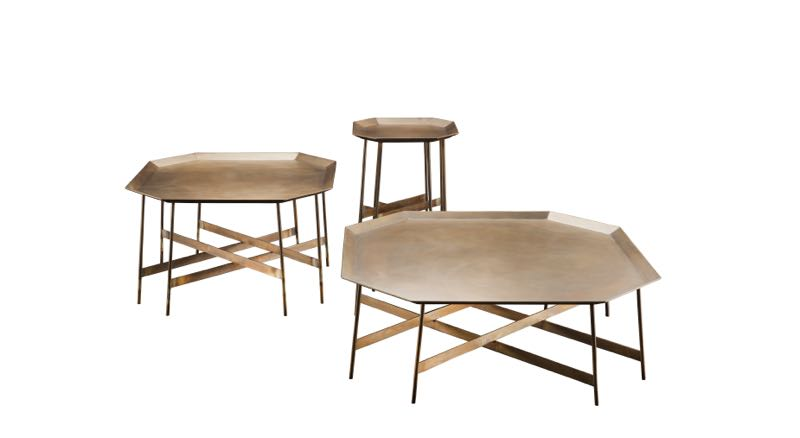 'Monolite' tables by Massimo Castagna for Henge.