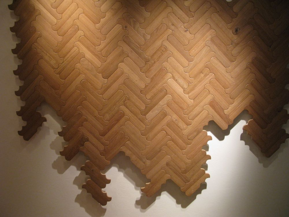 'Biscuit' - a new range of parquetry designed by Patricia Urquiola for Listone Giordino.