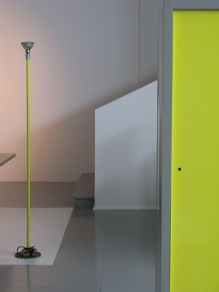 A small scene from Moroso's 'Vis a Vis' installation in their showroom in via Pontaccio, Brera. Photo: David Harrison