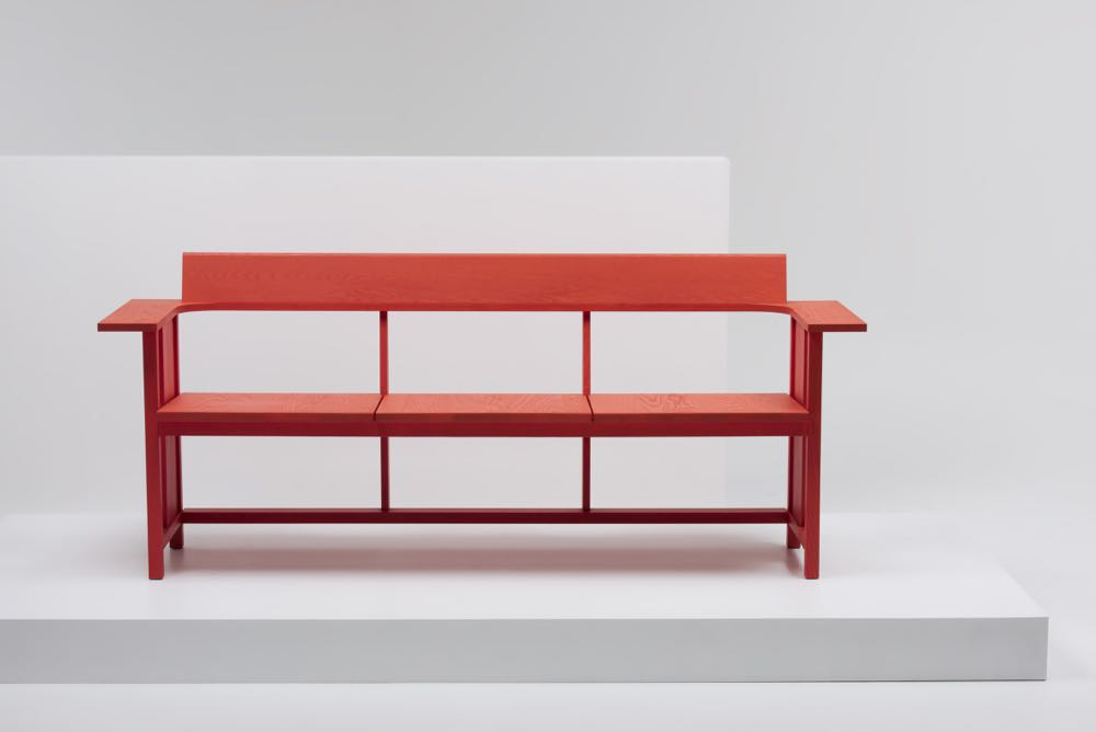 Konstantin Grcic is never afraid to create a new archetype or revise an old one. His new 'Clerici' bench for Italian manufacturer, Mattiazzi, has many of the attributes found in German designs from the thirties.