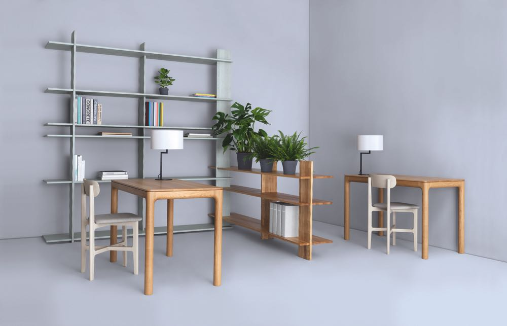 Like most of Zeitraum's collection, the new '3º Regal' shelving looks very simple but is beautifully resolved.