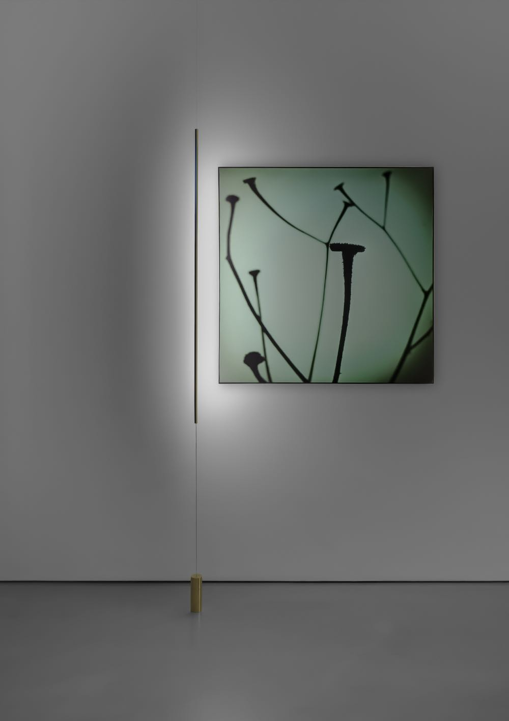 'Masai' from Davide Groppi. Even more minimal than Patricia Urquiola's 'Serena' floor lamp featured earlier.
