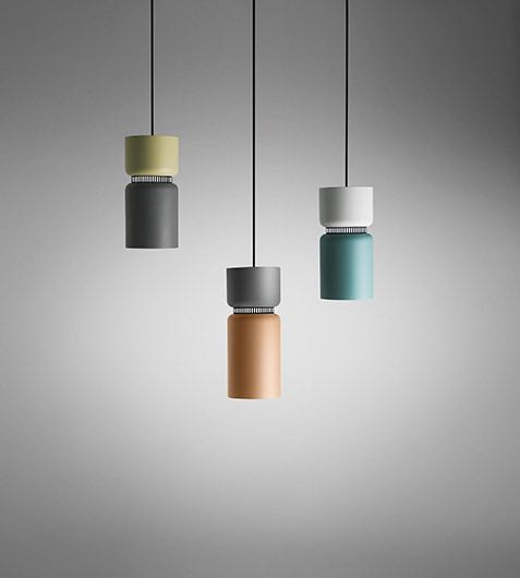 'Aspen S17' pendant lights by Werner Aisslinger for B.Lux