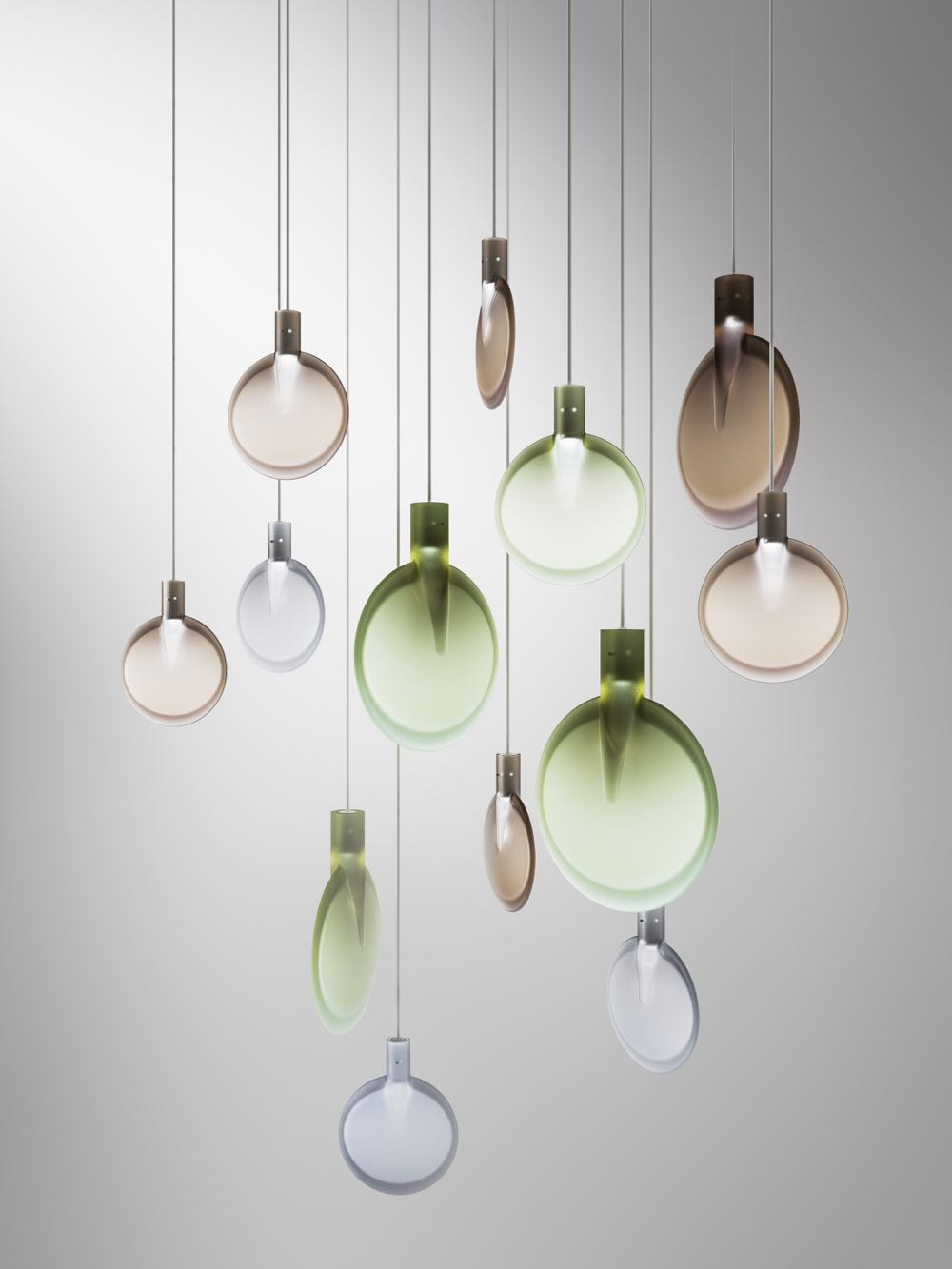 'Nebra' pendant light by Sebastian Herkner for FontanaArte.