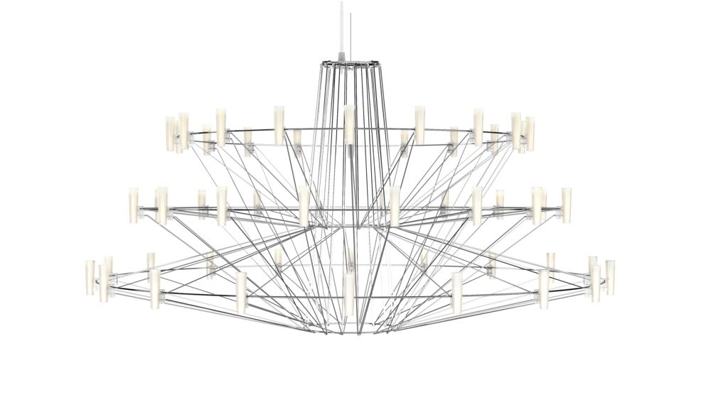Arihiro Miyaki's 'Coppelia' chandelier for Moooi.