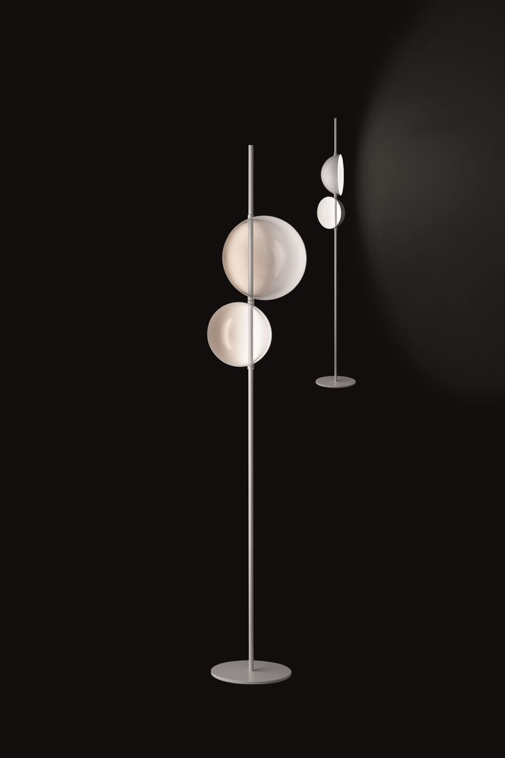 'Superluna 397' floor light by Victor Vasilev for Oluce.
