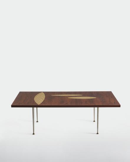 Wirkkala's 'Rhythmic Plywood' coffee table,Asko1958.