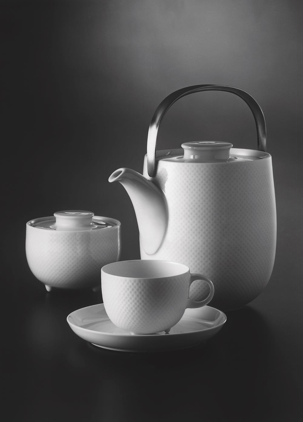 The 'Century' tea set released by Rosenthal.Photo courtesy of Rosenthal GmbH