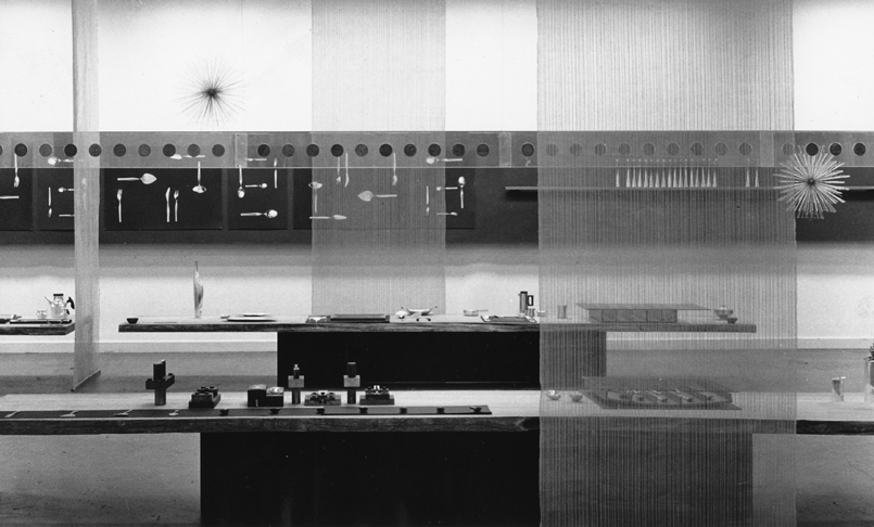Kultakeskus 40 Years Anniversary exhibition at the Stockmann department store in Helsinki in 1958.