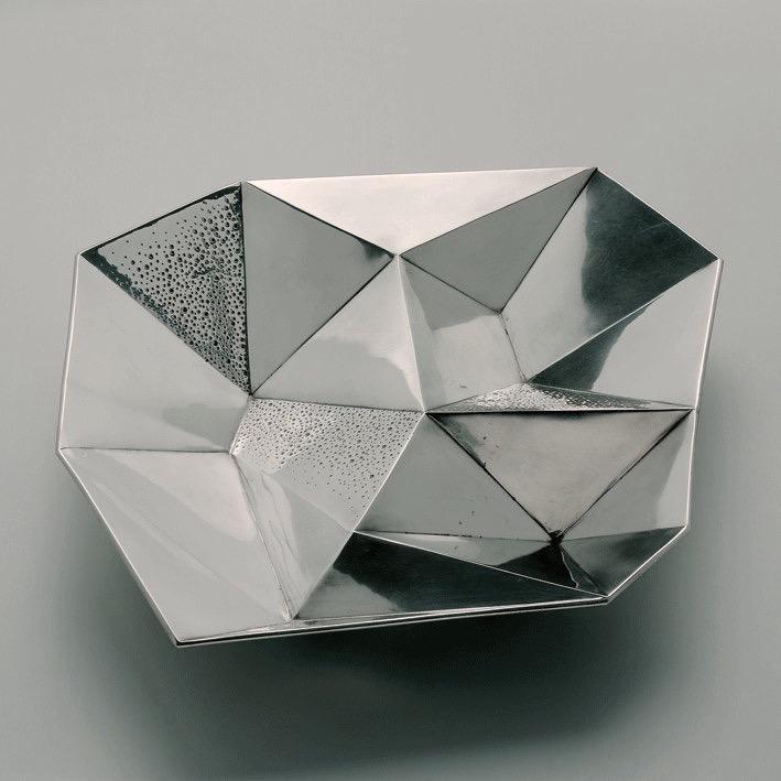 TapioWirkkala 'bowl with compartments' for Hopeakeskus.