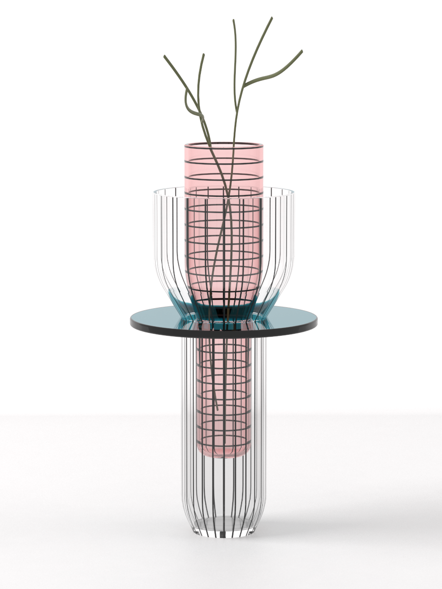The 'Toy' vase by Guillaume Delvigne.
