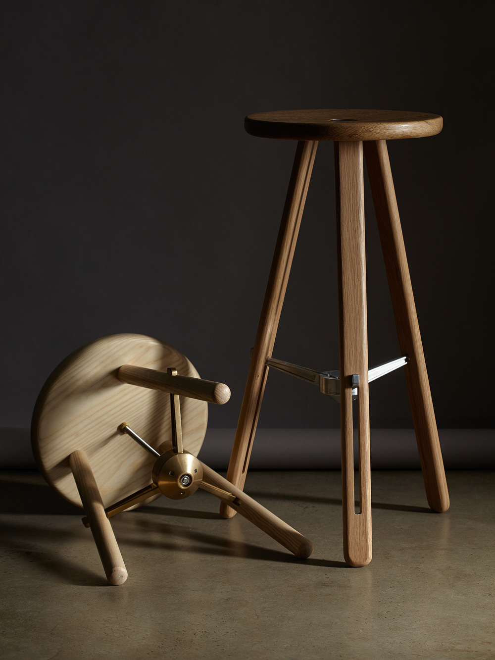 'Harpoon' stools by daast. Photo: Rodrick Bond