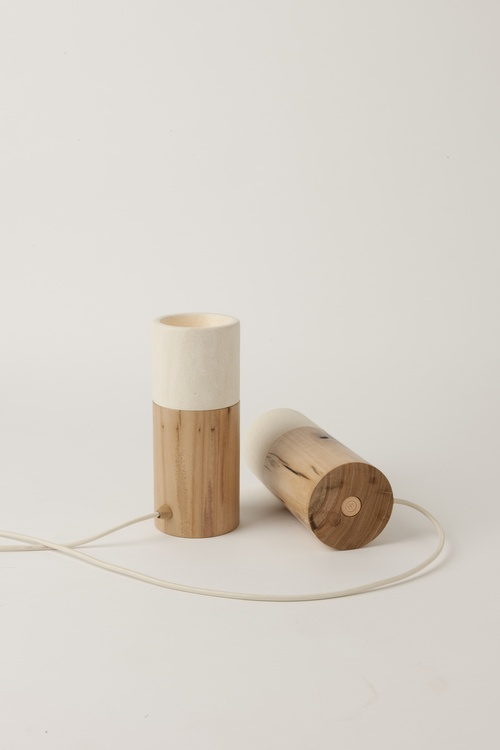 The 'Matchstick' table lamp by Hugh Altschwager for Inkster Maken.