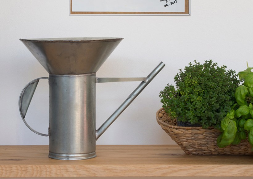 The 'Idro' watering can designed by Vittorio Venezia and Giuilio Iacchetti for Internoitaliano.