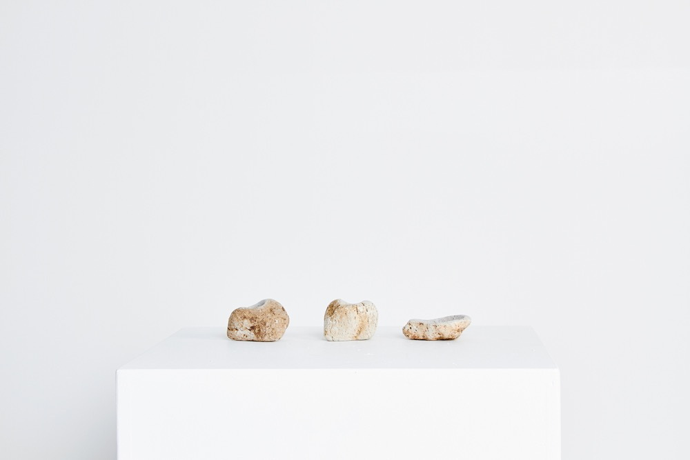 From Liane Rossler's 'You rock' series. Carved natural pumice stone.