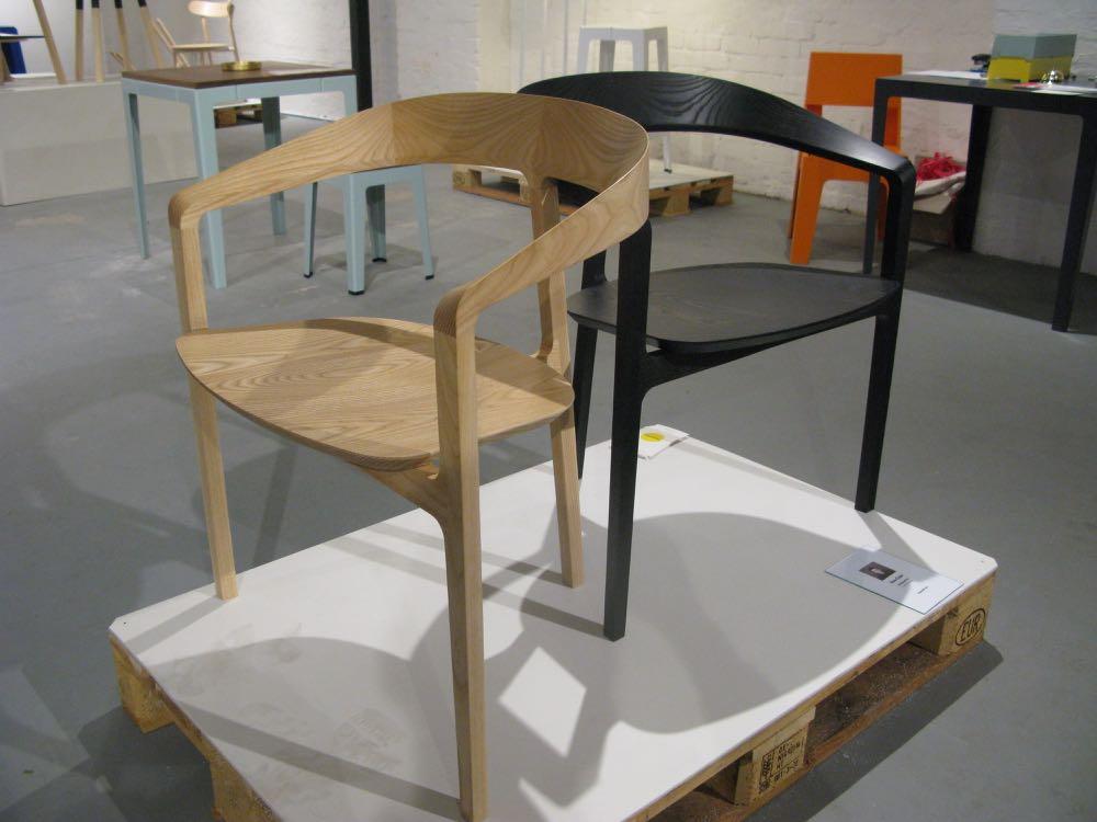 Tom Fereday's three legged 'Bow' chair for DesignbyThem.