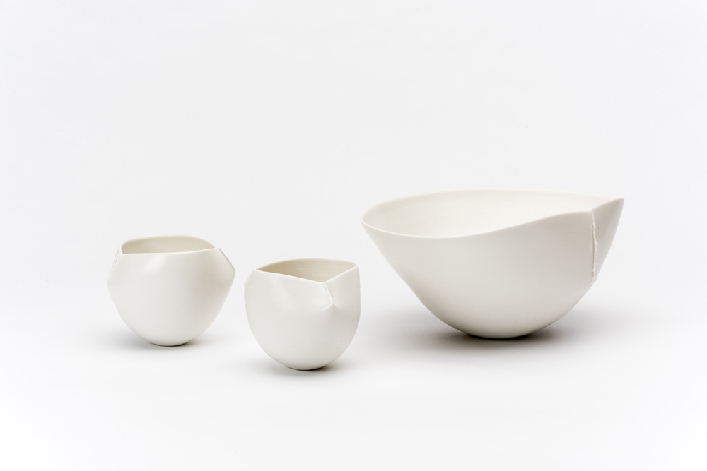 'Scar' bowls big and small. Photo by Greg Piper.