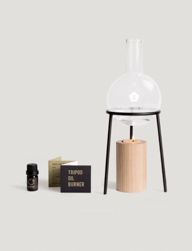 The 'Tripod' oil burner by Page Thirty Three.