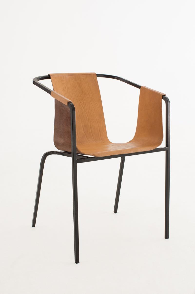 The 'Duo' chair by Kätlin Eskla. Photo by Juri Seredenko.