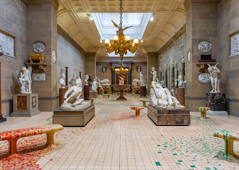 Raw Edge's installation 'Make Yourself Comfortable' at Chatsworth House.