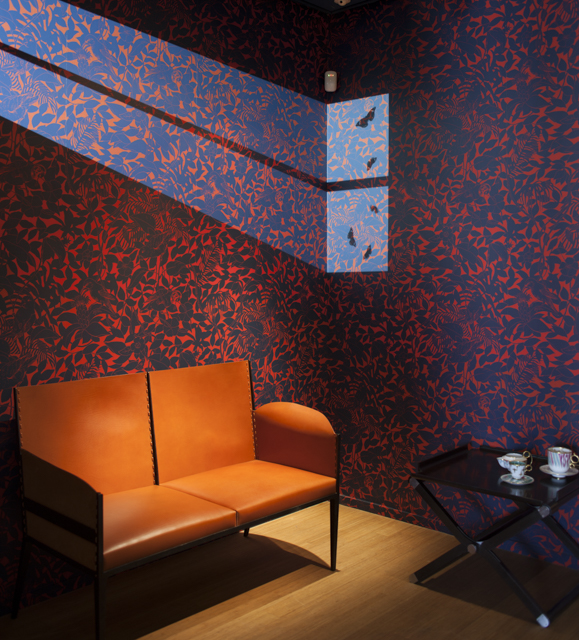 Another section of the Studio WM scenography at the Hermes Via Gastone Pisoni showroom, Milan 2015. Photo: Craig Wall.