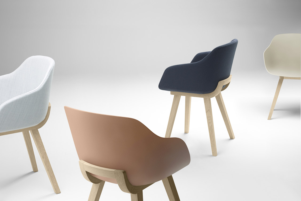 The 'Kuskoa Bi' chair by Jean Louis Iratzoki for Alki.