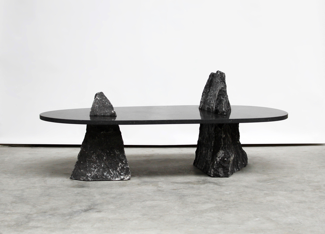'Twin' coffee table from the  Fragments  collection by Lex Pott for The Future Perfect.