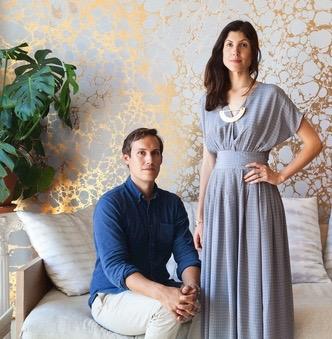 Nicholas and Rachel Cope of Calico Wallpaper.