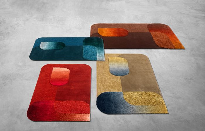Roderick Vos' 'Seasons' rugs for Leolux.