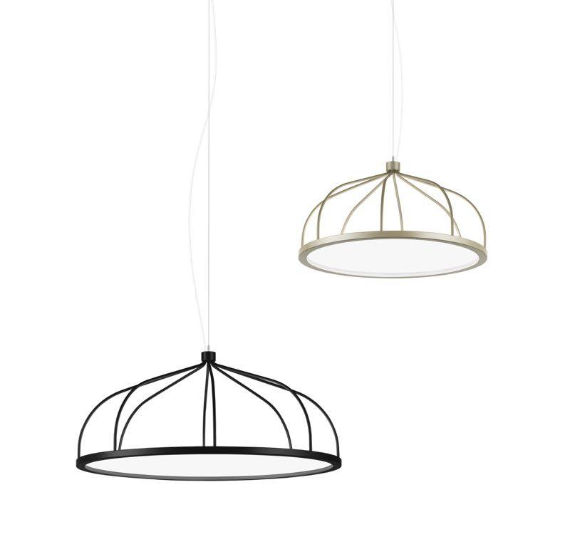 'Plane' pendant light by Front for Swedish company Zero Lighting.