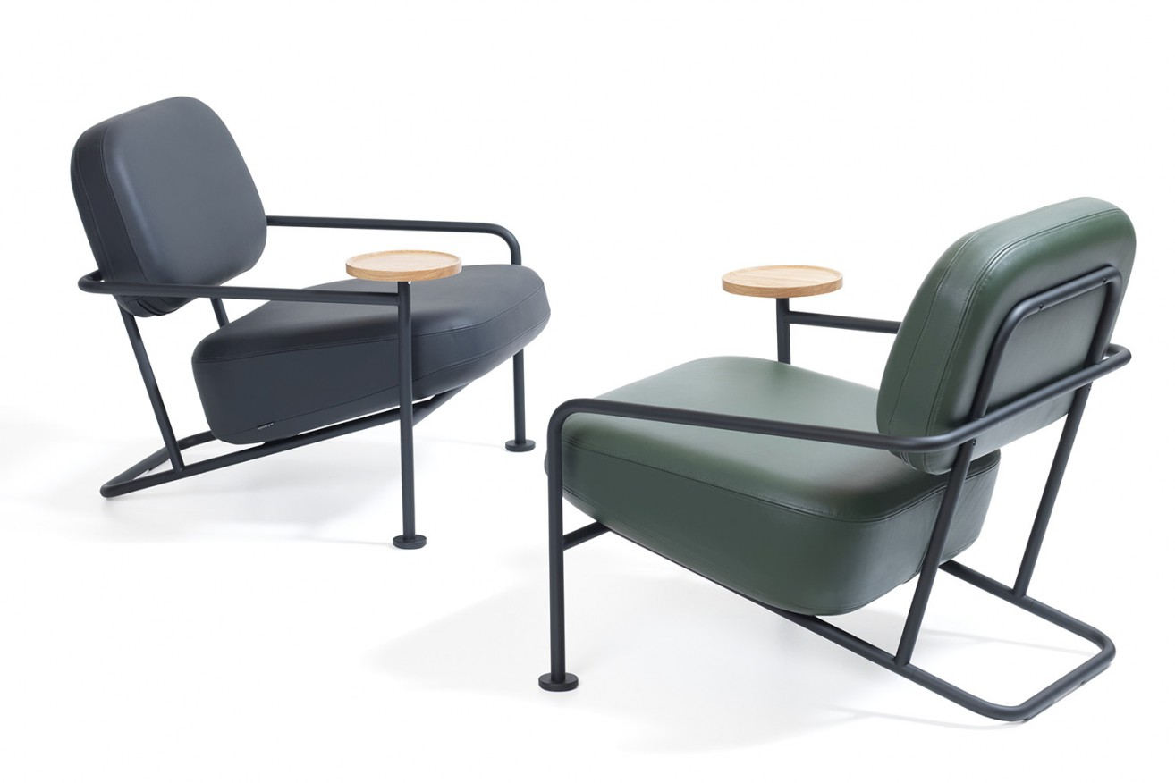 The 'Ahus' armchair by Outofstock for Blå Station.