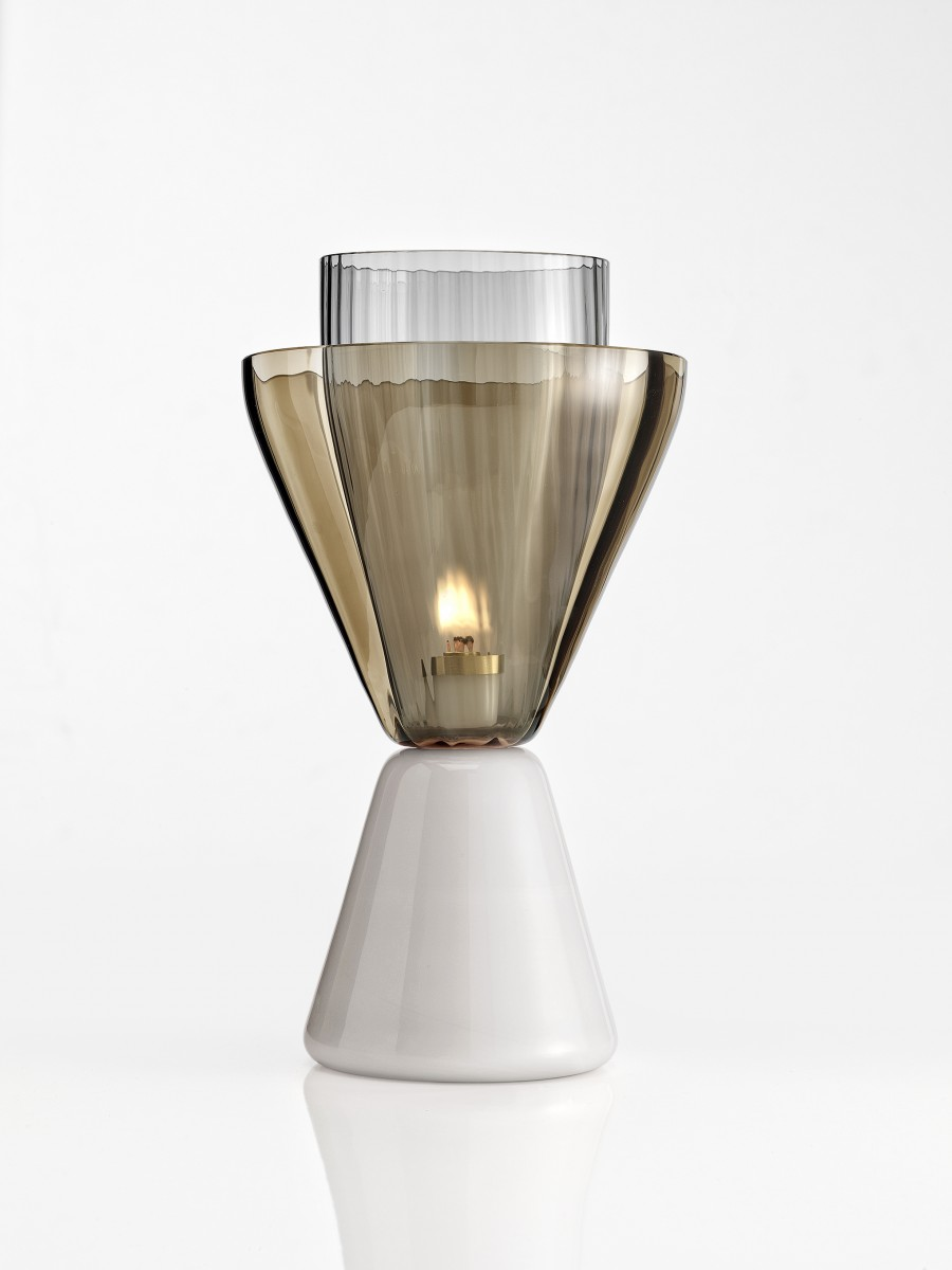 'Halo' oil burning candle holder by Luca Nichetto for NasonMoretti.